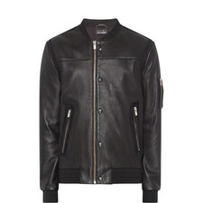 Leather Teddy Jacket