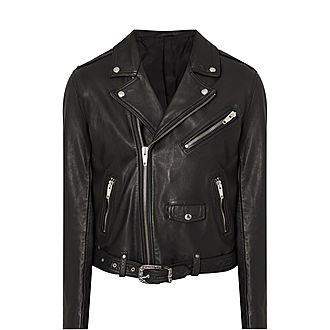 Perfecto Zippe Style Leather Jacket