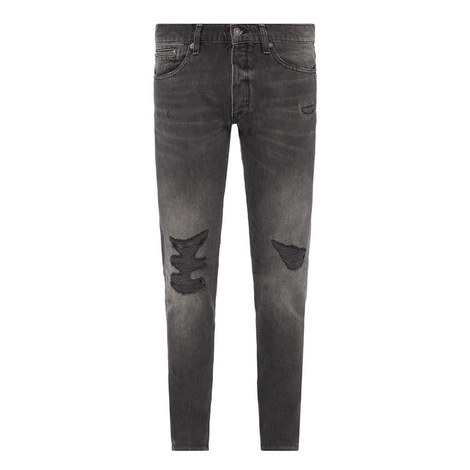 Goth Ripped Jeans, ${color}