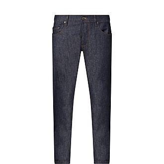 Slim Fit Distressed Trousers
