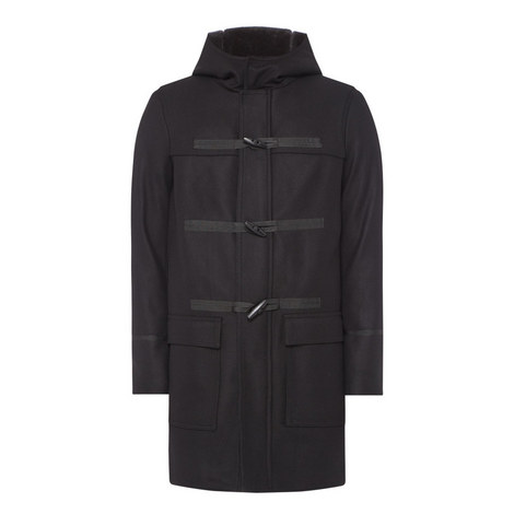 Hooded Duffel Coat, ${color}