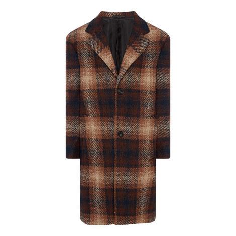 Tartan Pattern Coat, ${color}