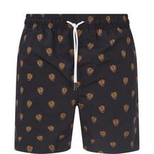 Panther Print Swim Shorts