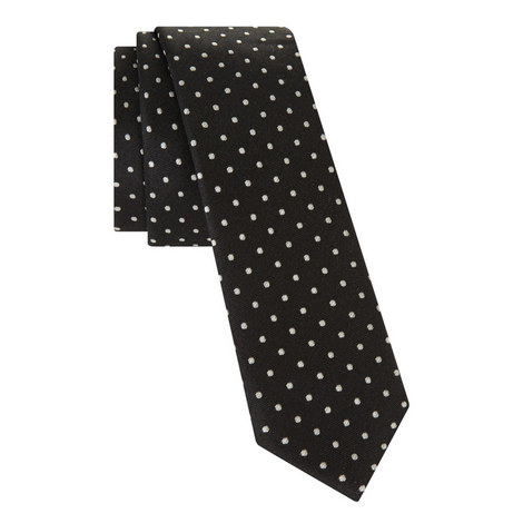 Polka Dot Pattern Tie, ${color}