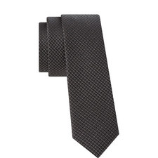 Circle Pattern Silk Tie