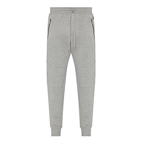 Biker Fleece Sweatpants, ${color}