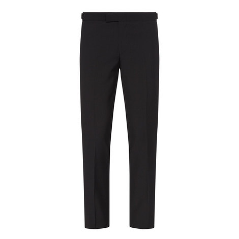 Straight Fit Suit Trousers, ${color}