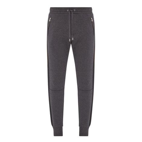 Biker-Style Sweatpants, ${color}