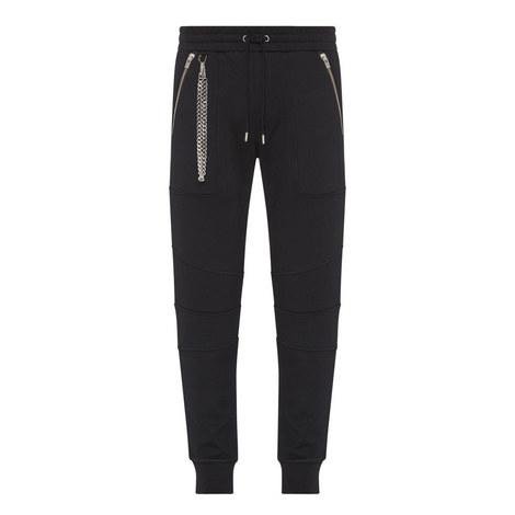 Fleece Chain Sweatpants, ${color}