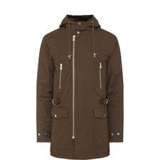 Mid-Length Parka Coat