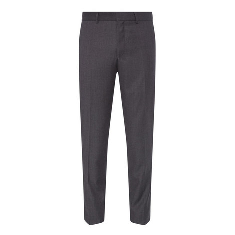 Micro-Pattern Suit Trousers, ${color}