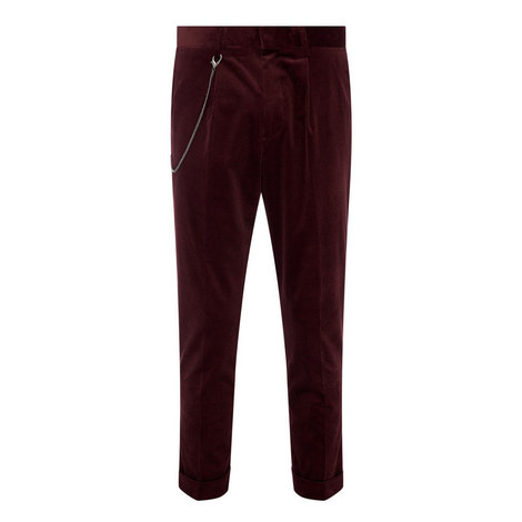 Ribbed Velvet Chinos, ${color}