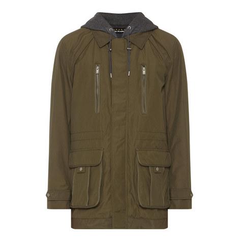 Hooded Parka Jacket, ${color}