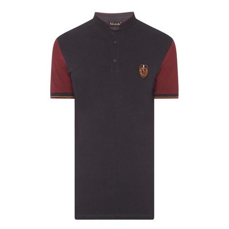 Bi-Colour Polo Shirt, ${color}