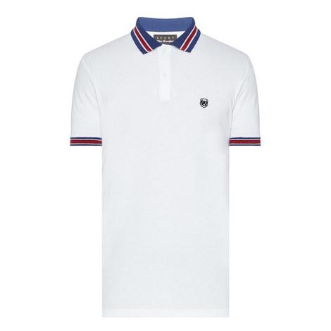 Tricolour Polo Shirt, ${color}
