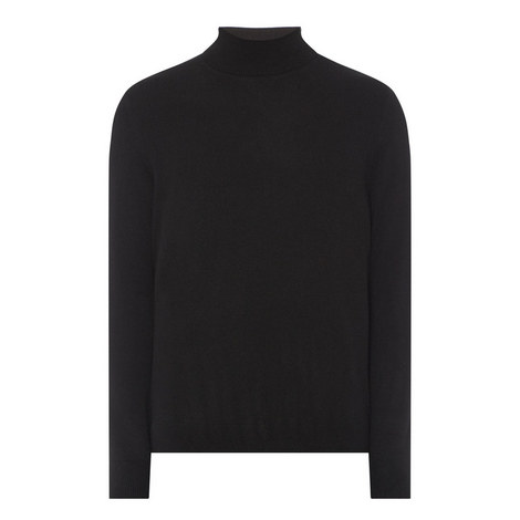 Cashmere Polo Neck Sweater, ${color}
