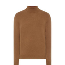 Cashmere Polo Neck Sweater