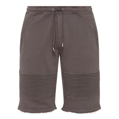 Fleece Bermuda Biker Shorts, ${color}