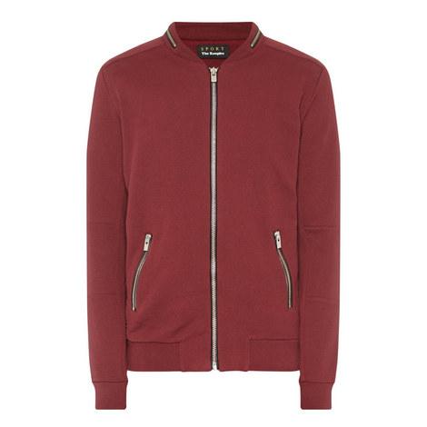 Bomber Style Sweatshirt, ${color}