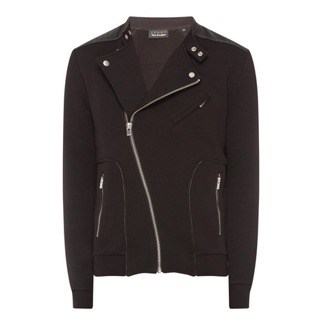 Biker Collar Jacket, ${color}