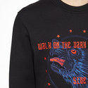 Wolf Embroidered Sweatshirt , ${color}