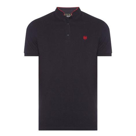 Officer Collar Polo Shirt, ${color}