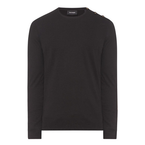 Velvet Button T-Shirt, ${color}