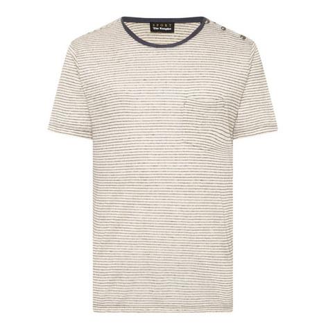 Stripe Chest Pocket Shirt, ${color}