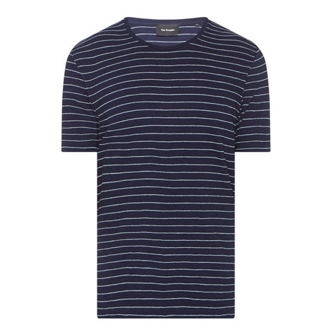 Textured Stripe T-Shirt, ${color}