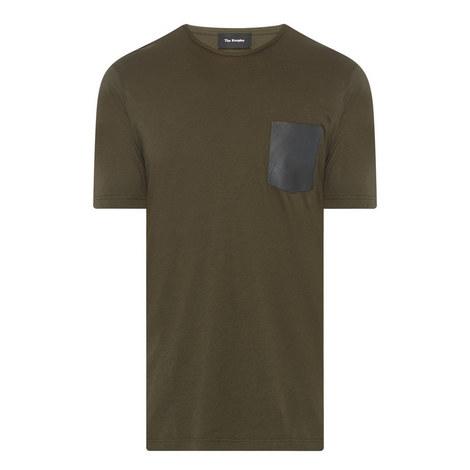 Leather Pocket T-Shirt, ${color}