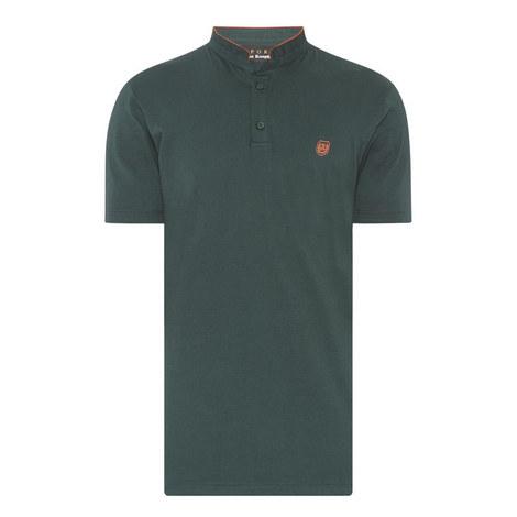 Contrast Collar T-Shirt, ${color}