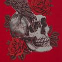 Skull Rose T-Shirt, ${color}