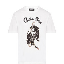 Embroidered Panther T-Shirt