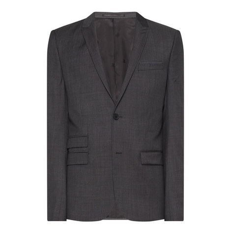 Single Breasted Suit Jacket , ${color}