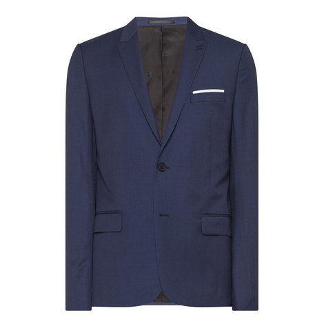 Single Breasted Suit Jacket, ${color}
