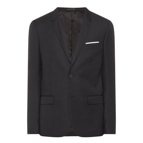 Twill Suit Jacket, ${color}