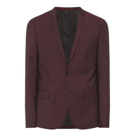 Woven Suit Jacket, ${color}