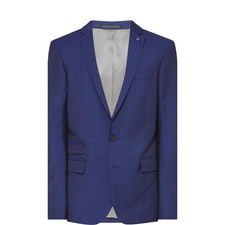 Single-Breasted Suit Jacket