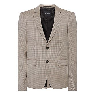 Micro Houndstooth Jacket