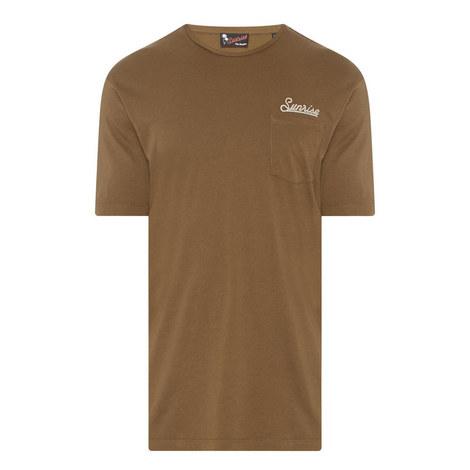 Embroidered Pocket T-Shirt, ${color}