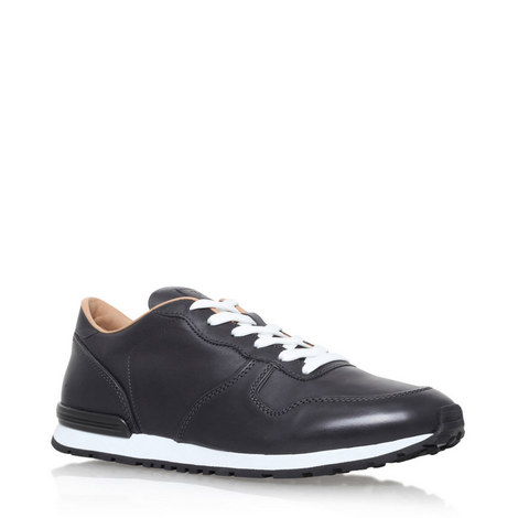 Clean Runner Leather Trainers, ${color}