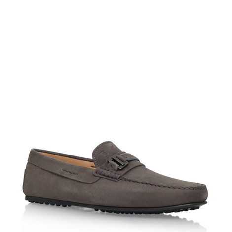 City Buckle Gommino Loafers, ${color}