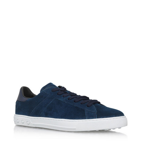 Low Top Suede Trainers, ${color}