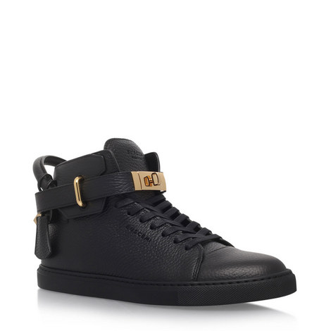 Turn Lock High Top Trainers, ${color}