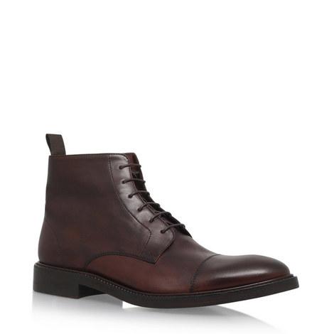 Jarman Lace-Up Leather Boots, ${color}