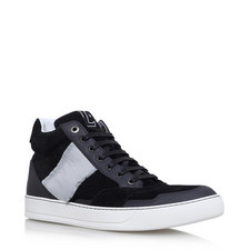 Ribbon Panelled High Tops