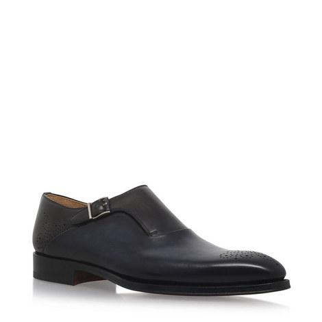 2-Tone Medallion Monk Shoes, ${color}