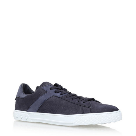 Suede Tennis Trainers, ${color}