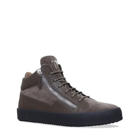 Kriss Mid Top Trainers, ${color}