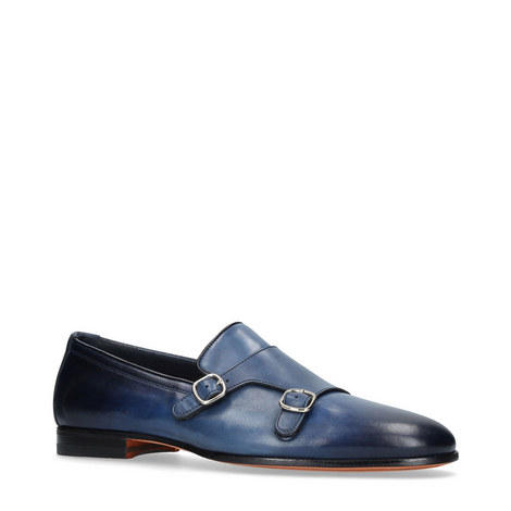 Carlos Monk Strap Loafers, ${color}